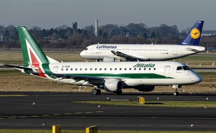 Alitalia, 6 mila tagli chiesti da Luftha
