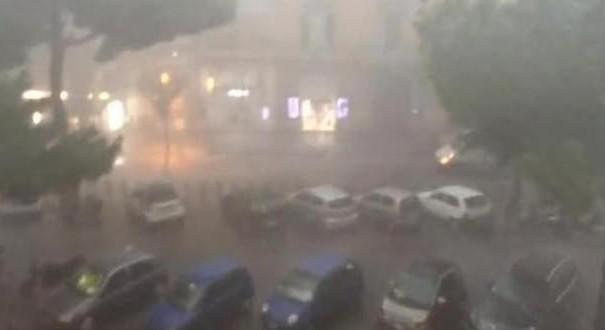 Allarme maltempo, tempesta ad Amsterdam