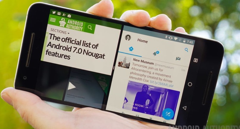 Android 7 e Android 7.1.1 Nougate: Samsu