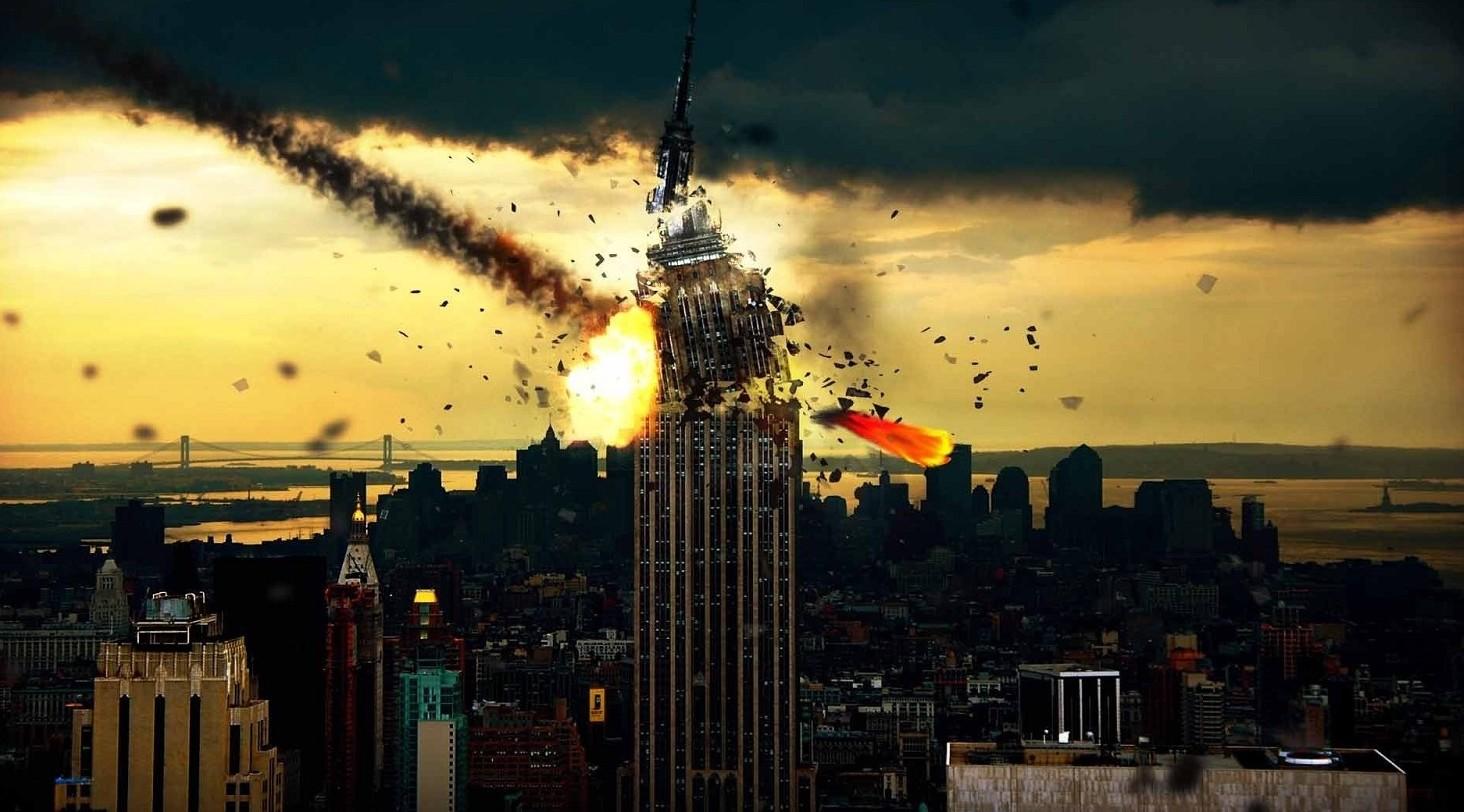 Asteroide distrugge New York: simulazion