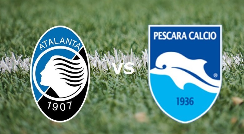 Atalanta Pescara streaming live gratis.