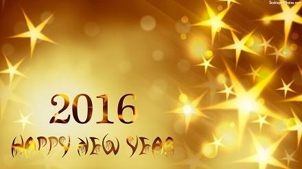 Auguri di Capodanno 2017 formali per col