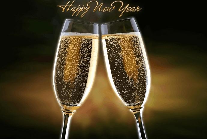 Auguri di Buon Anno, Capodanno 2017 indi