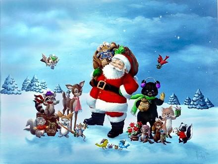 Auguri Di Natale Animati Da Inviare Via Mail.Auguri Di Natale Animati Powermall