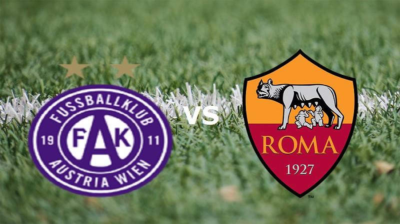 Austria Vienna Roma streaming live grati