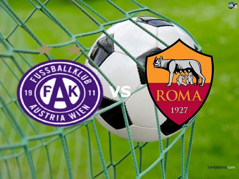 Austria Vienna Roma streaming  per veder