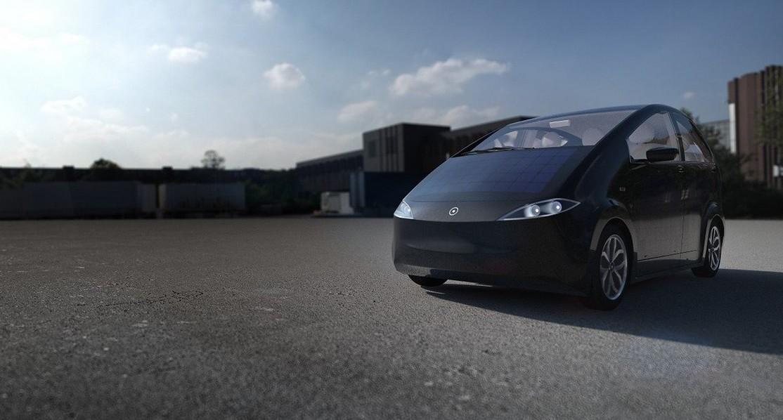 Auto elettrica solare Sion: testdrive, s