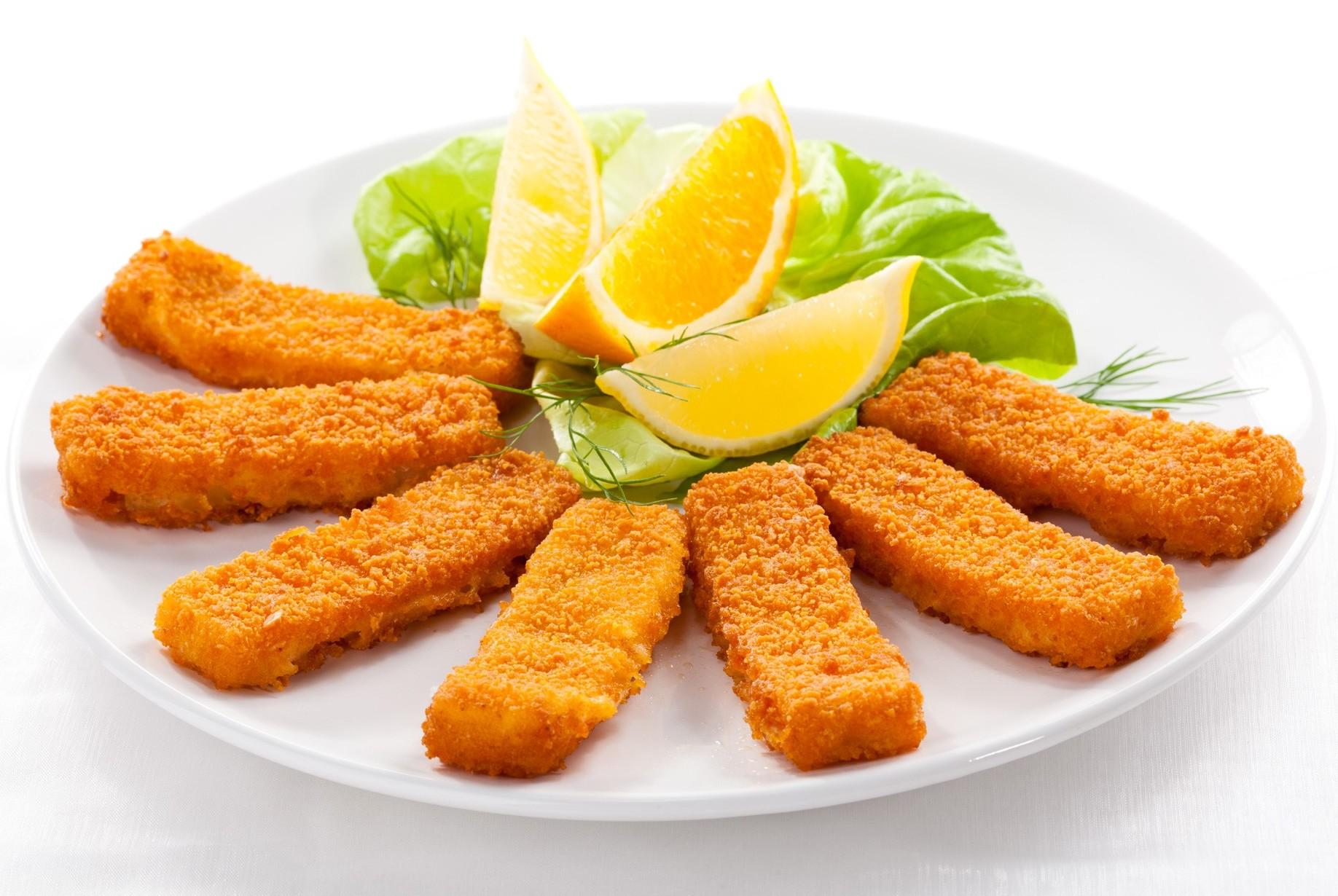 Bastoncini di pesce, test su tante march