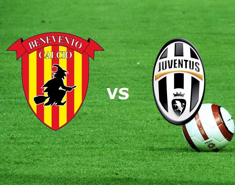 Benevento Juventus streaming live gratis
