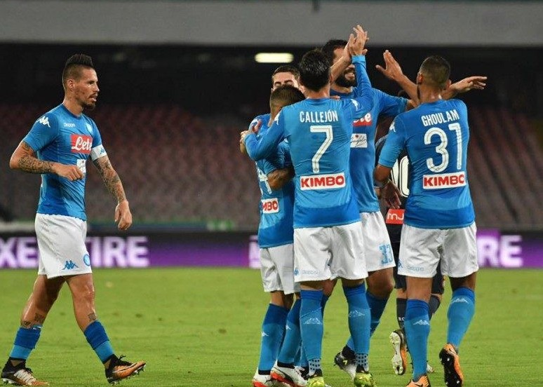 Benevento Napoli streaming live gratis d
