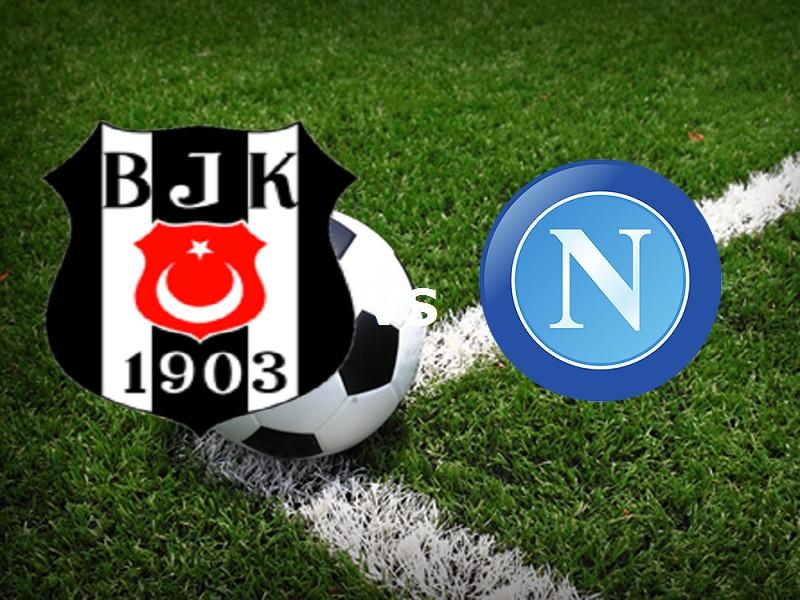 Besiktas Napoli streaming gratis live si