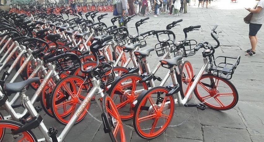 Bike sharing i servizi a Firenze, Milano