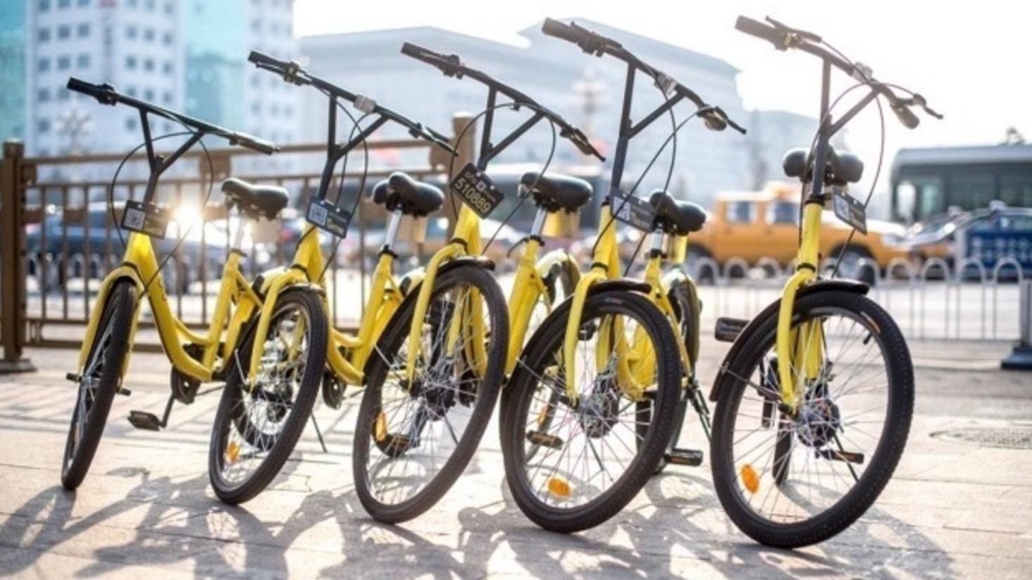 Bike sharing, la Cina ci invade e arriva
