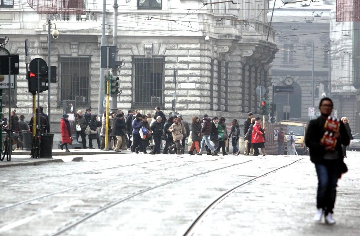 Blocco traffico Torino, Milano, Brescia,