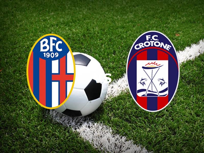 Bologna Crotone streaming live gratis li