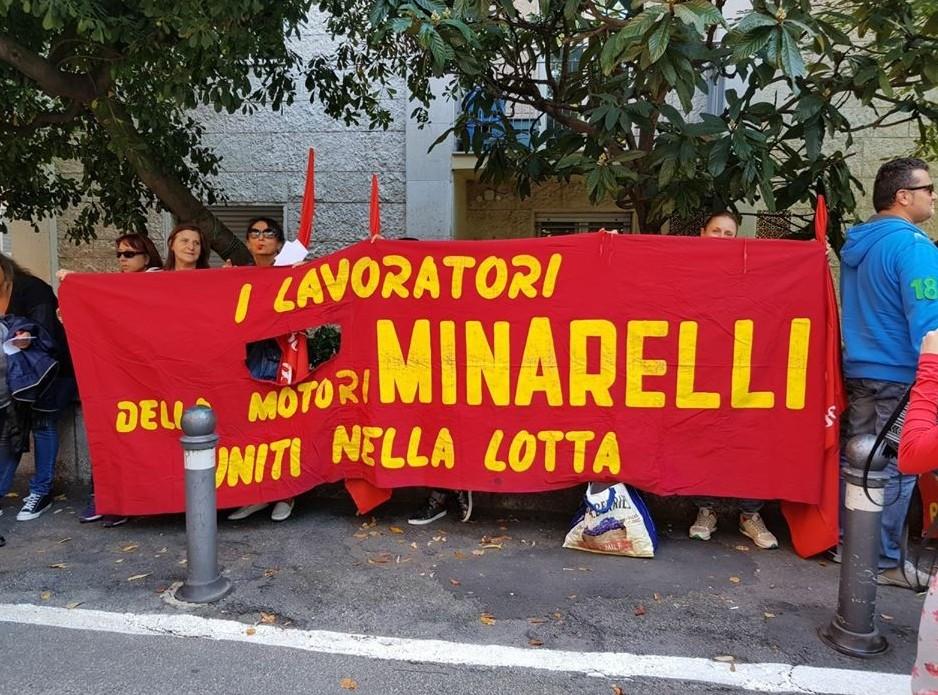 Dipendenti Motoroli Minarelli ripresi pe