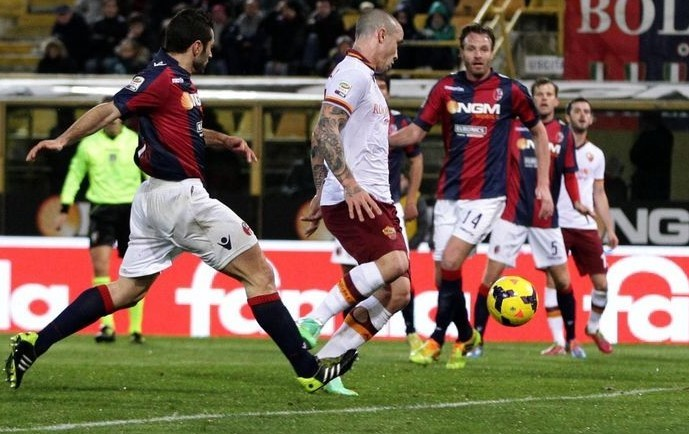 Bologna Roma streaming su Rojadirecta, l