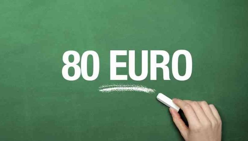 Bonus 80 euro, 1,7 milioni di restituzio