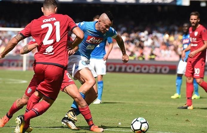 Cagliari Napoli streaming gratis su siti