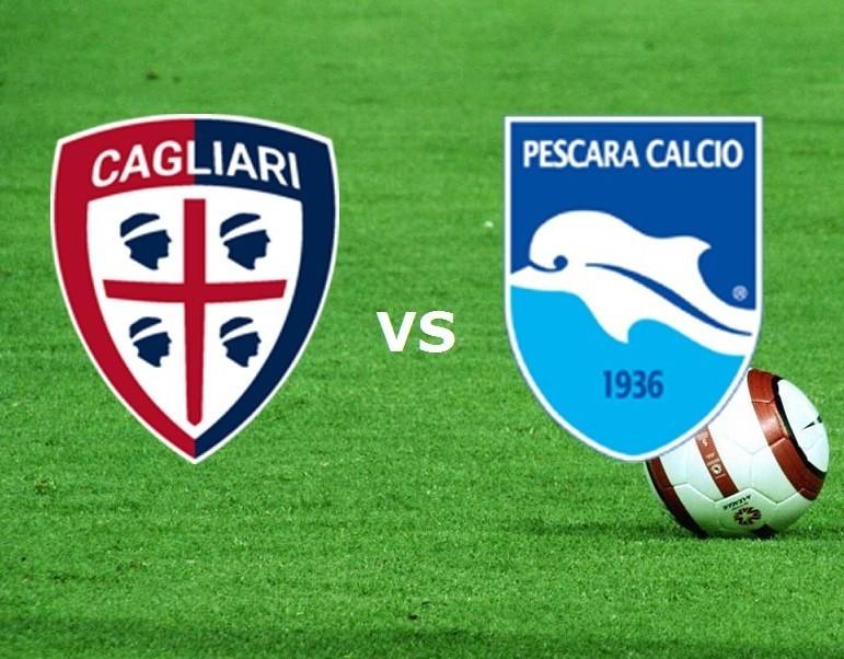 Cagliari Pescara streaming live gratis.