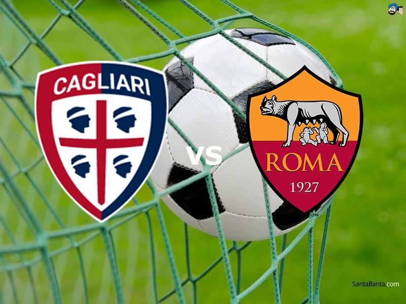 Cagliari Roma streaming live gratis. Dov
