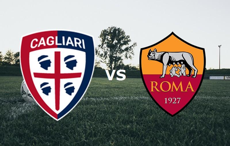 Roma Cagliari streaming live gratis su s