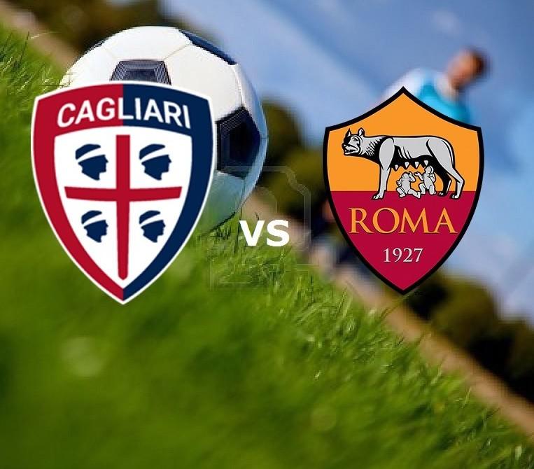 Cagliari Roma streaming ora gratis live.