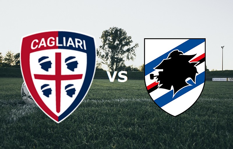Cagliari Sampdoria streaming gratis live
