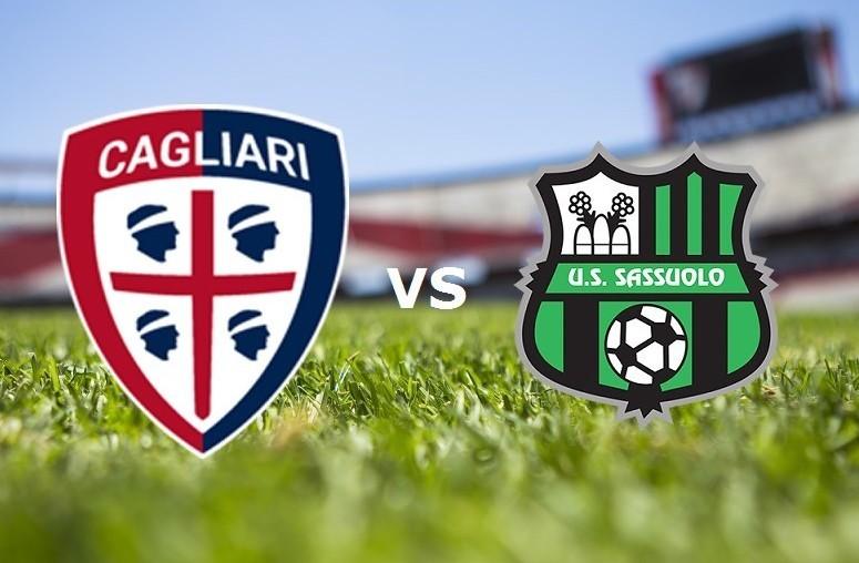 Cagliari Sassuolo streaming live gratis
