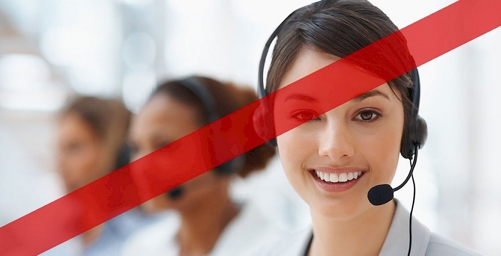 Call center crisi per aziende stesse con