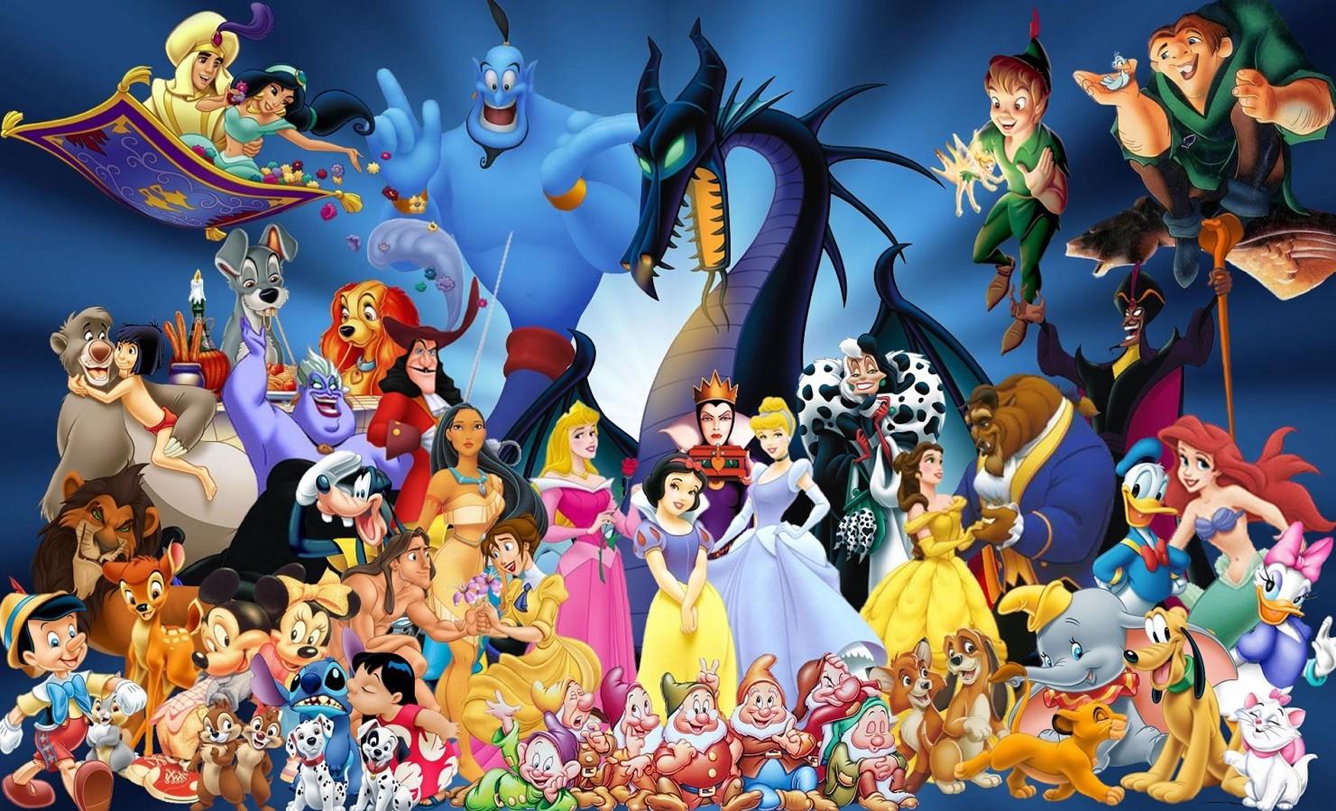 Cartoni Disney in streaming legale grati