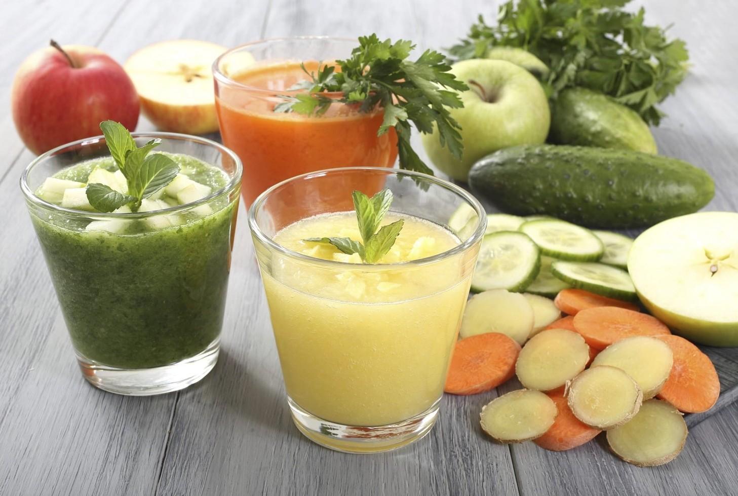 Centrifugati di frutta e verdura, 5 idee