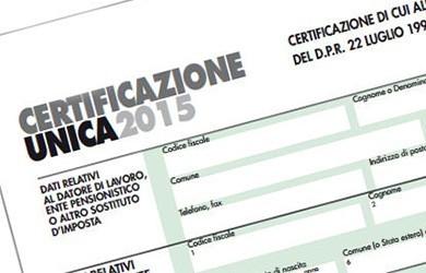 Certificazione Unica 2016: compilazione,