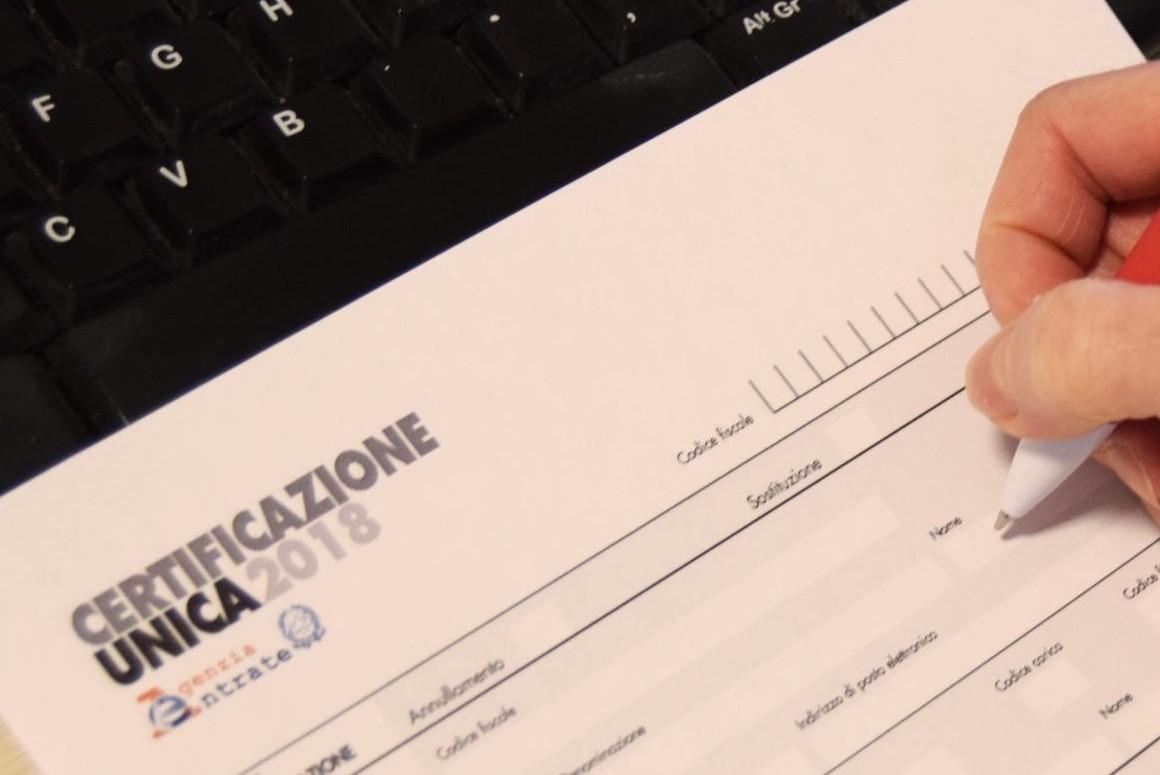 Certificazione Unica 2018, istruzioni. C