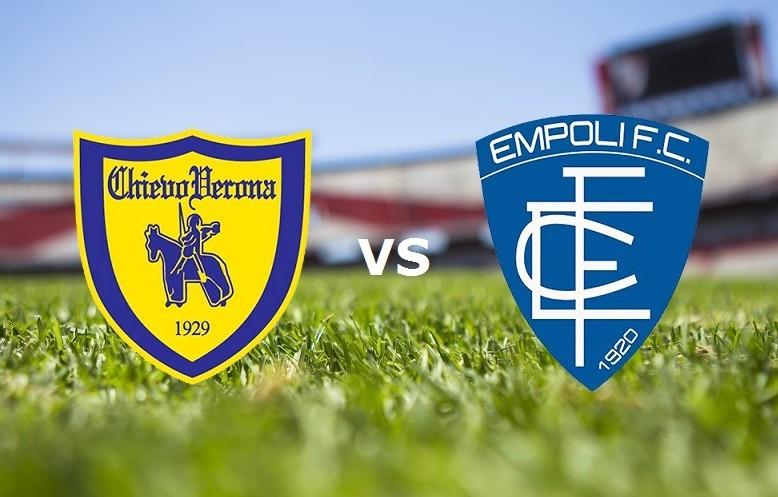 Chievo Empoli streaming gratis live. Ved