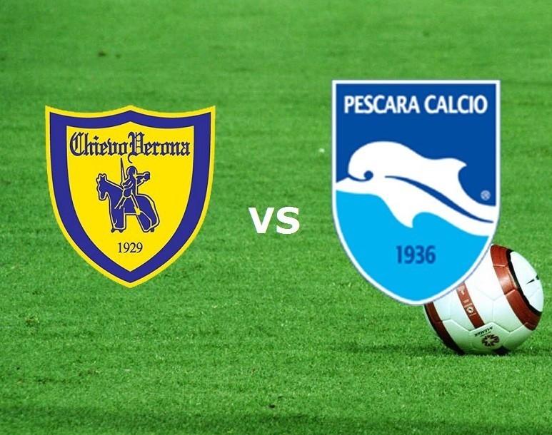 Chievo Pescara streaming gratis live. Ve