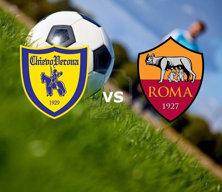 Chievo Roma streaming ora gratis live. C
