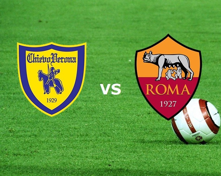 Chievo Roma streaming live gratis partit