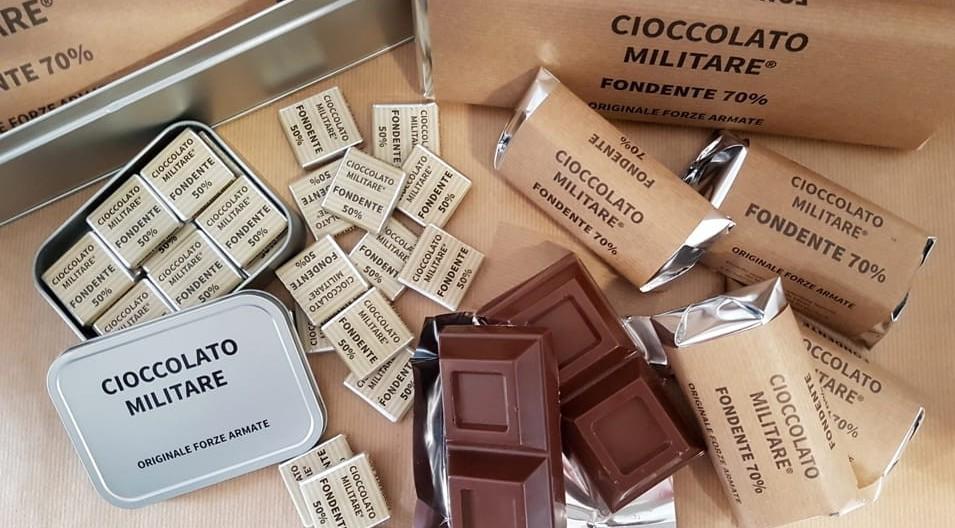 Cioccolato militare, eccolo di nuovo fin
