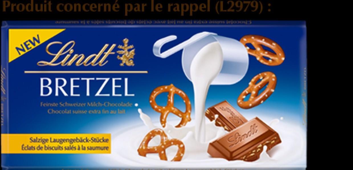 Cioccolato richiamato dalla vendita. Mar