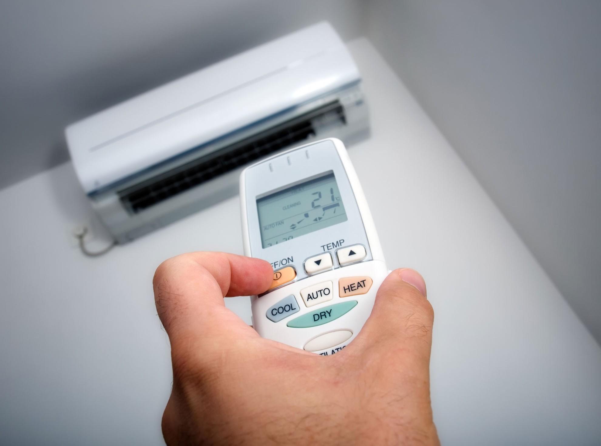 Condizionatori e temperatura al lavoro,