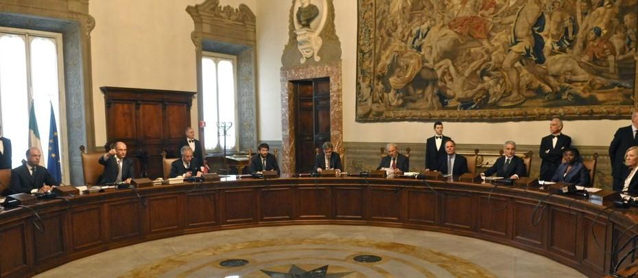 Consiglio dei Ministri oggi venerdì