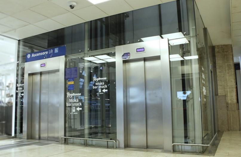 Cosa succede quando si sta in ascensore.