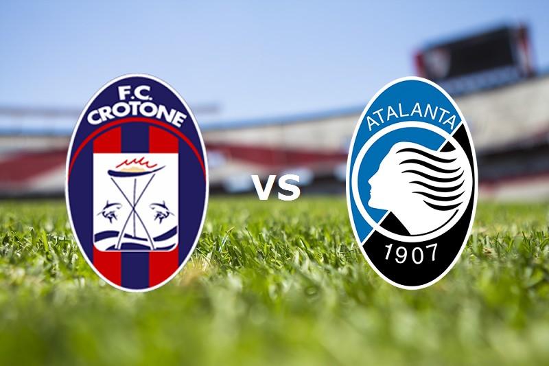 Crotone Atalanta streaming live gratis.