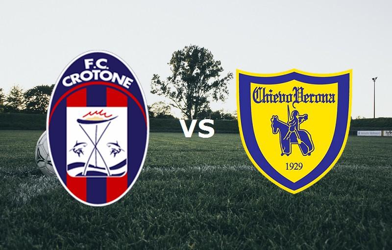 Crotone Chievo streaming link, siti web.