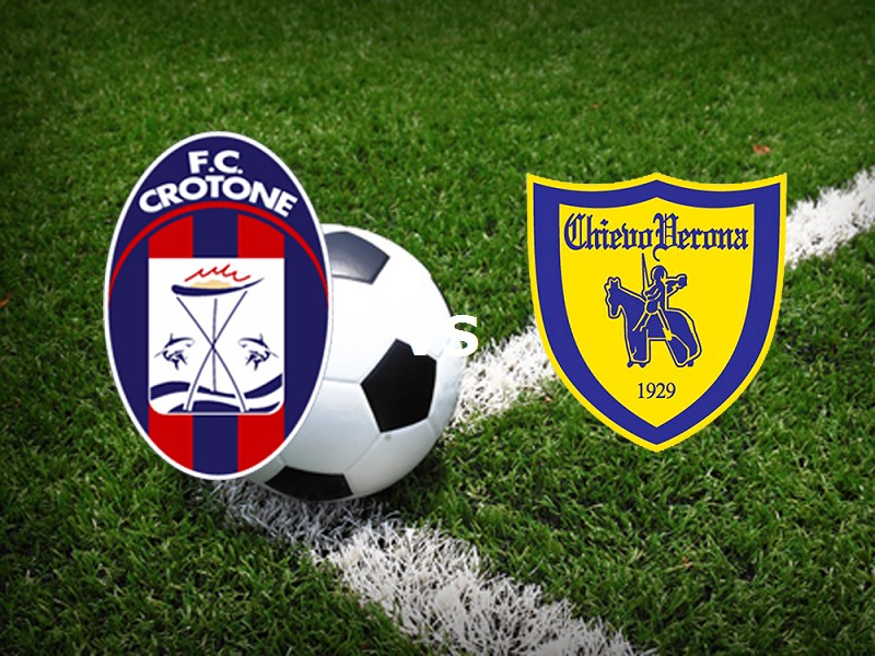 Crotone Chievo streaming live gratis lin