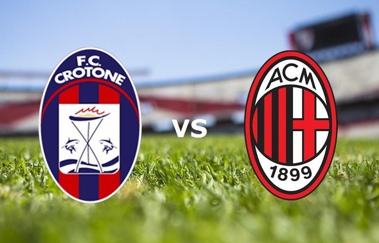 Crotone Milan streaming per vedere sfida