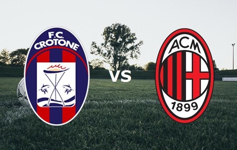 Crotone Milan streaming per vedere parti