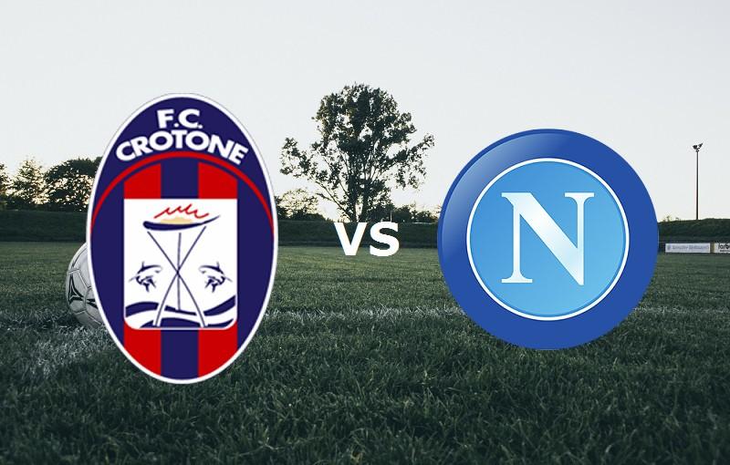 Crotone Napoli streaming gratis live per
