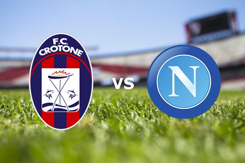 Crotone Napoli streaming (in aggiornamen